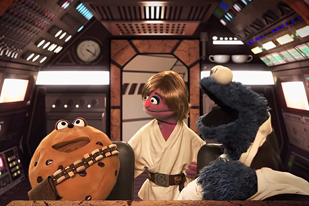 ... 'Sesame Street' Spoof 'Stars Wars' in 'Star S'Mores