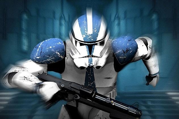 Star Wars Episode 7 Chrome Trooper