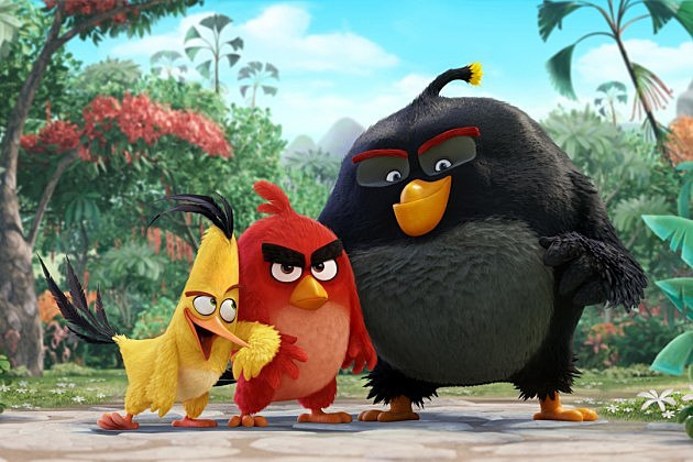Angry Birds Movie First Look, Cast