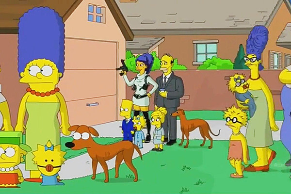 The Simpsons Parody Animation Styles For Halloween