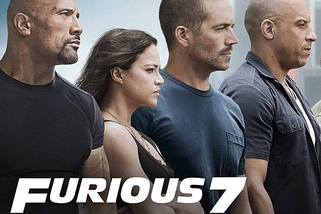 Fast and Furious 7 trailer poster