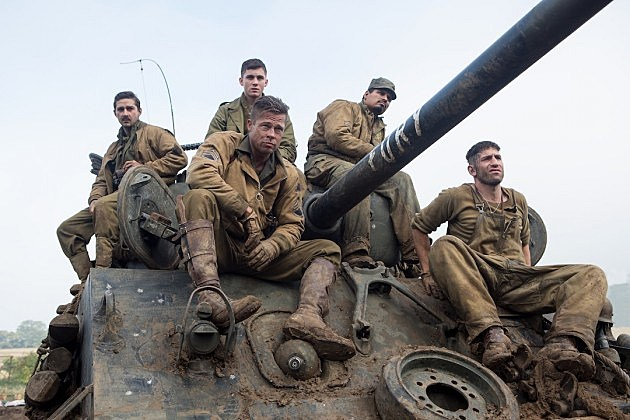 fury box office 630x420 Weekend Box Office Report: Fury Rages Into First Place