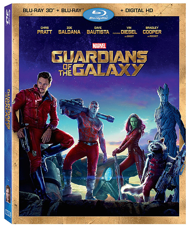 Guardians of the Galaxy Blu-ray Combo