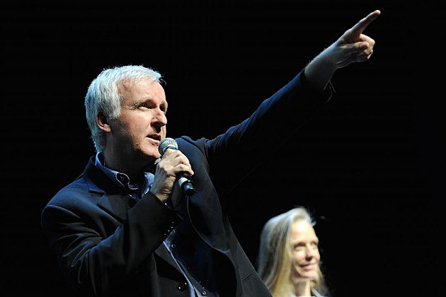 James Cameron point