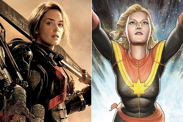 Emily Blunt Captain Marvel