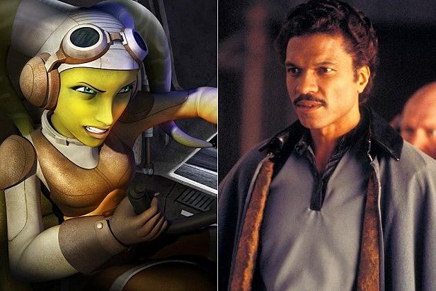 Star Wars Rebels Lando Calrissian Billy Dee Williams Idiots Array