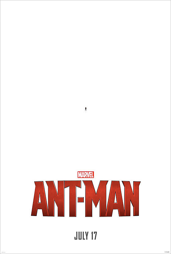 look close it�s the first �antman� poster