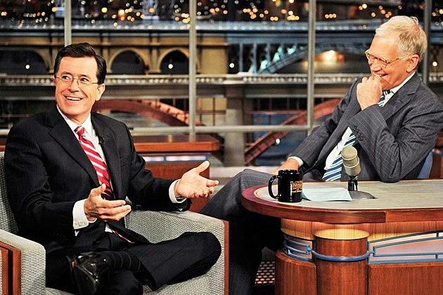 Late Show Stephen Colbert Premiere September 8 Letterman