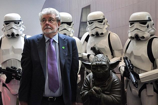 George Lucas Star Wars 7