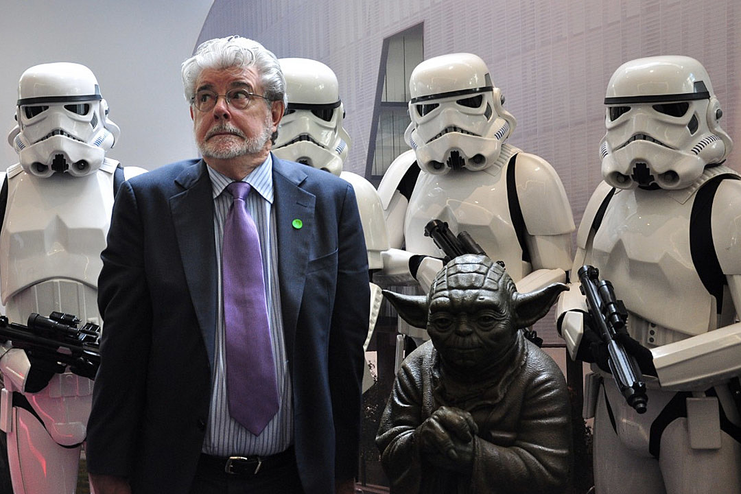 """an analysis of star wars by george lucas At the dec 14 world premiere of """"star wars: the force awakens"""" in hollywood, the audience gave a standing ovation to george lucas, since there would."""