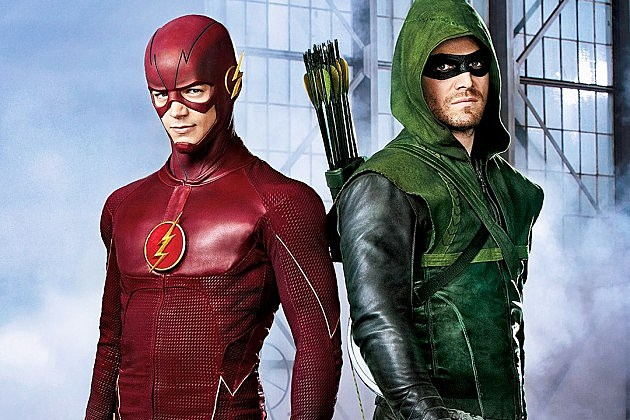 The Flash Grant Gustin and Green Arrow Stephen Amell3 630x420 The CW Eyes Arrow and Flash Spinoff with The Atom, Firestorm, Black Canary and More