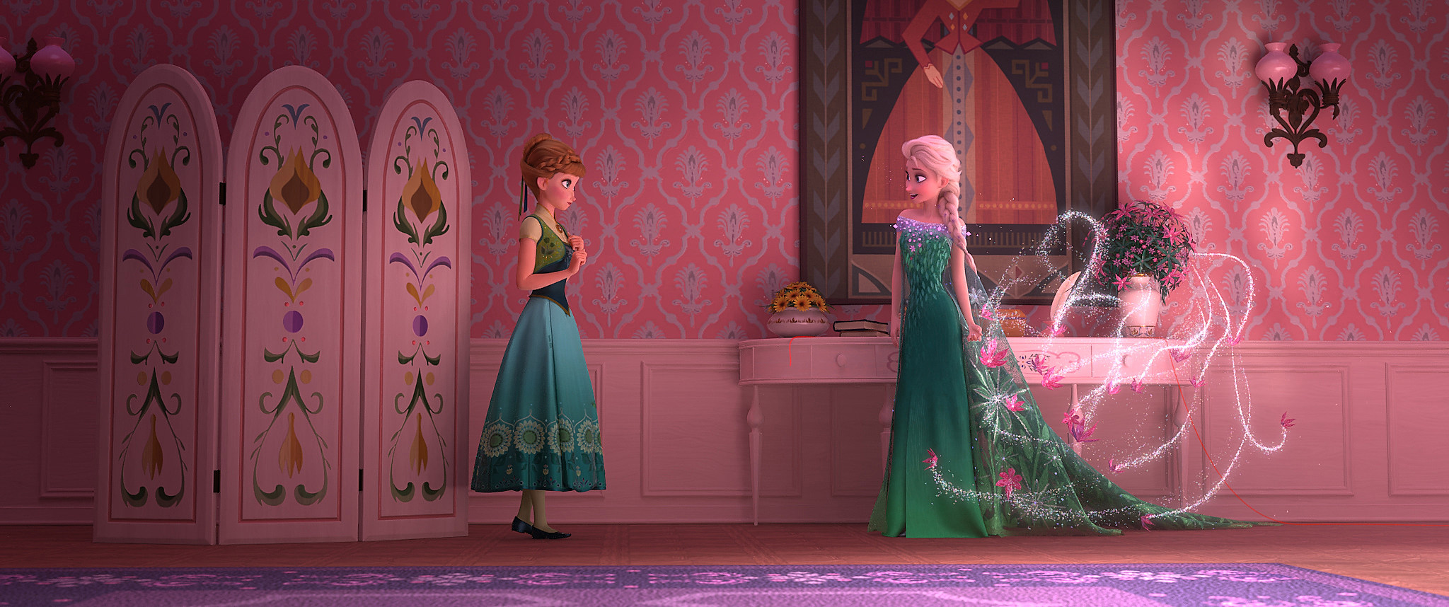 Frozen fever photos anna elsa and the gang are back