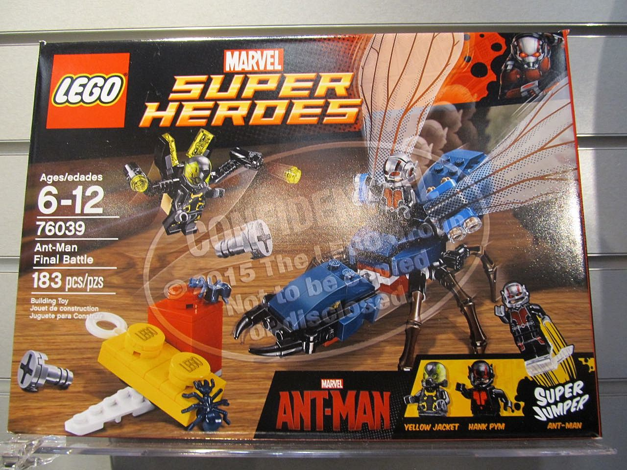Does the 'Ant-Man' LEGO Set Reveal Some Major Spoilers?