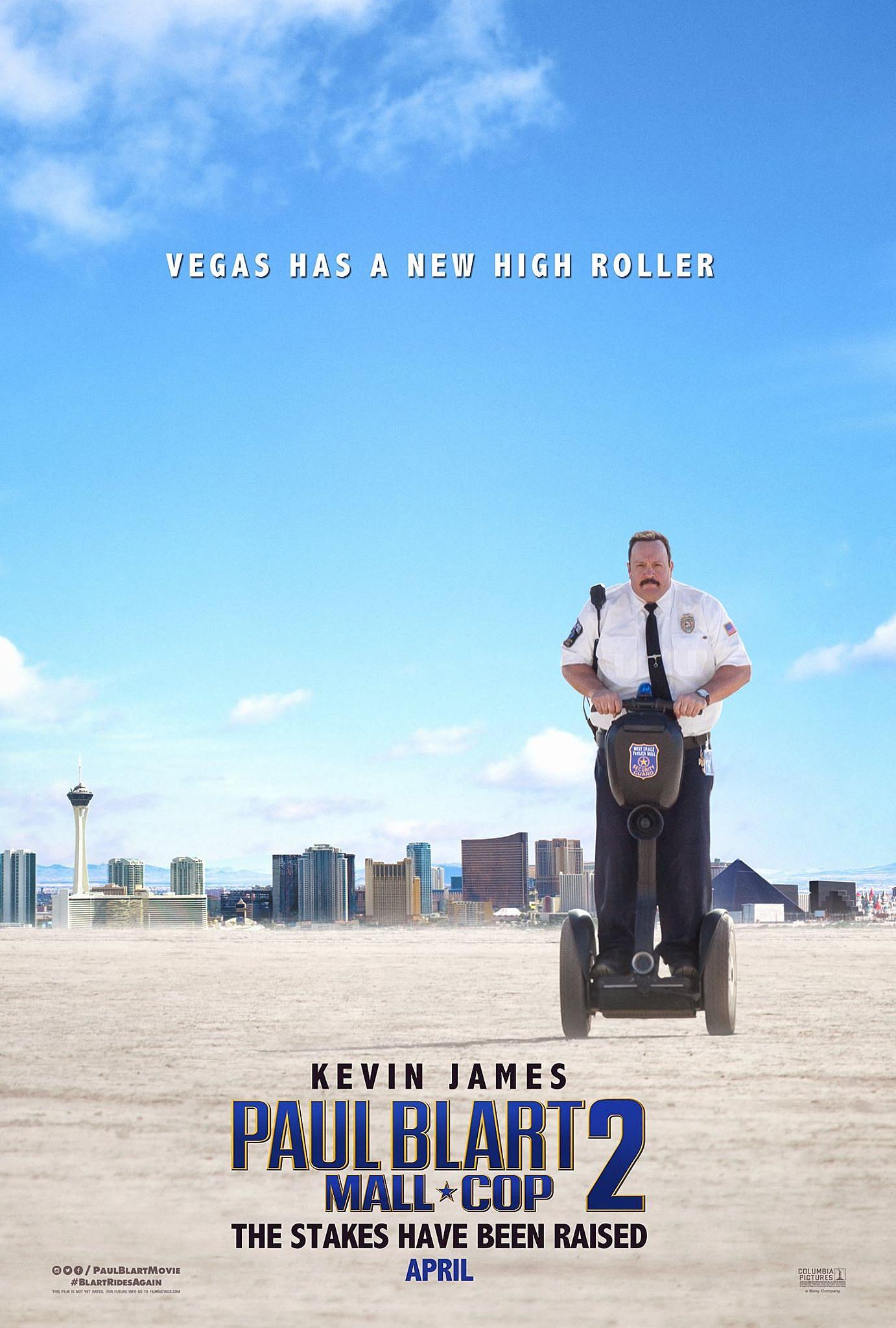 Paul Blart: Mall Cop 2' Trailer: Get Ready to Blart Harder