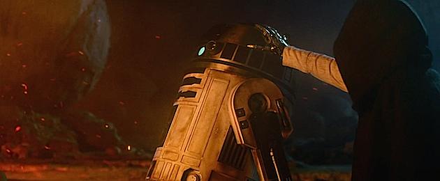 Star Wars trailer R2
