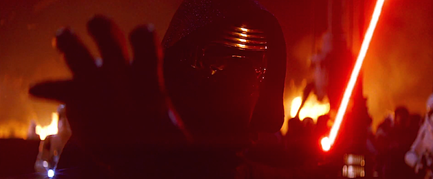 Star Wars trailer Kylo Ren