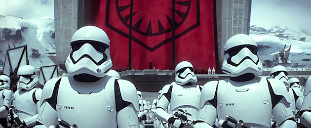 Star Wars trailer Stormtroopers