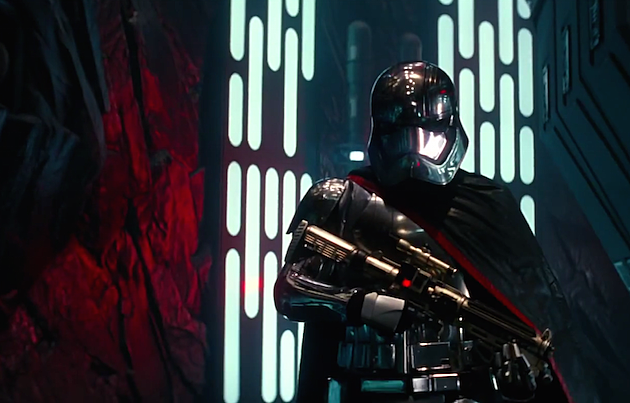 Star Wars trailer Captain Phasma
