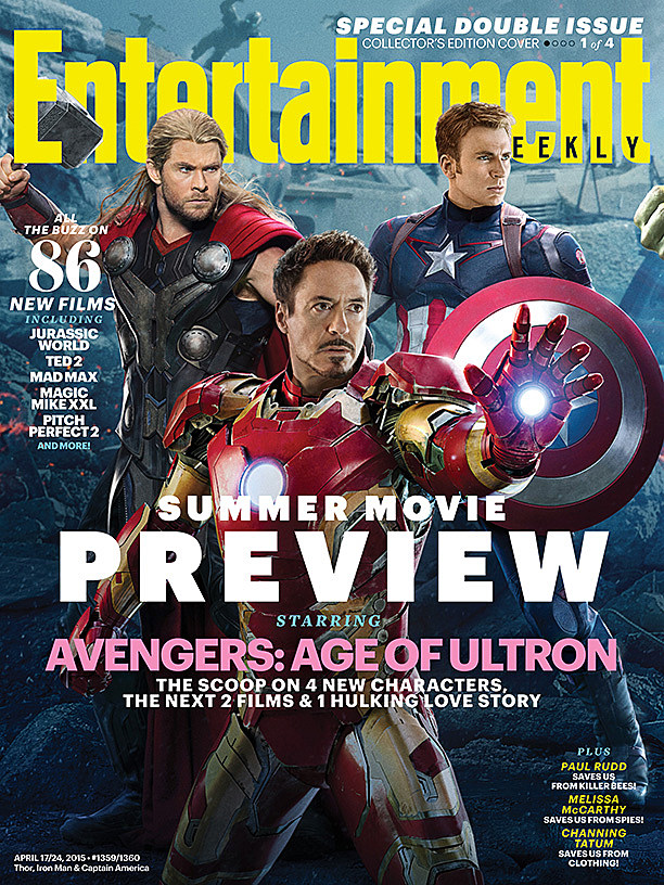 'Avengers 2' Magazine Covers Officially Reveal The Vision