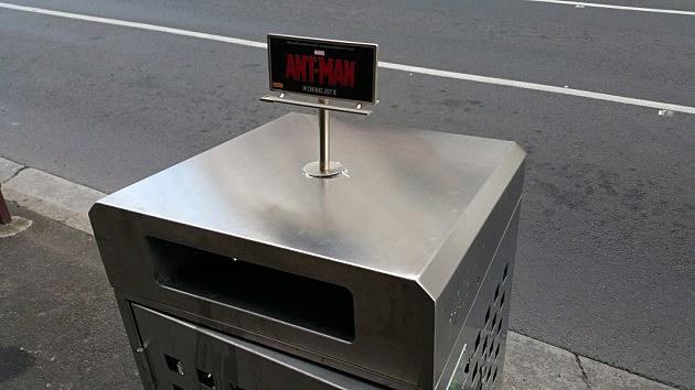 Tiny Ant-Man Billboard