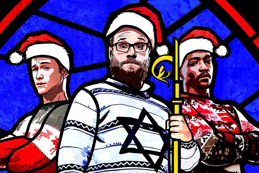 the night before trailer seth rogen and joseph gordon levitt have a very raunchy christmas - The Night Before Christmas Trailer