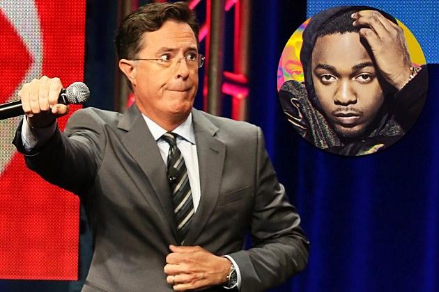 Colbert Late Show Kendrick Lamar Trump TCA
