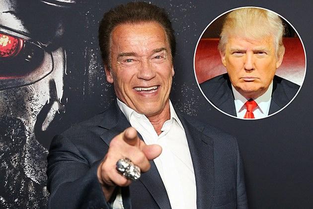 Arnold Schwarzenegger Celebrity Apprentice Donald Trump