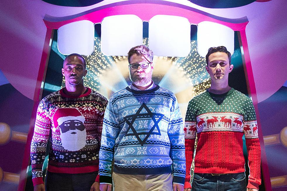 the night before trailer seth rogen and joseph gordon levitts christmas debauchery goes green band - The Night Before Christmas Trailer