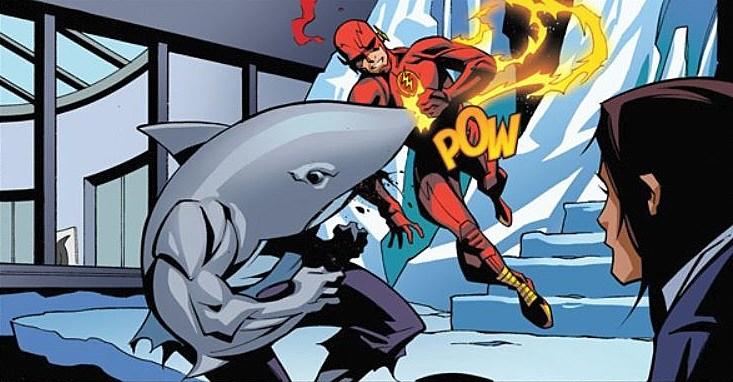 Flash Season Zero King Shark
