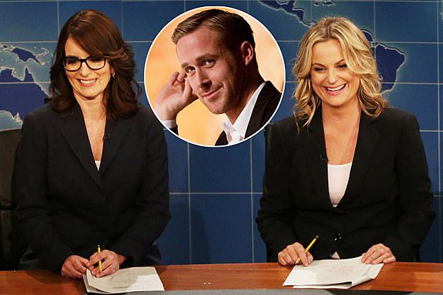 SNL Tina Fey Amy Poehler Gosling Hemsworth
