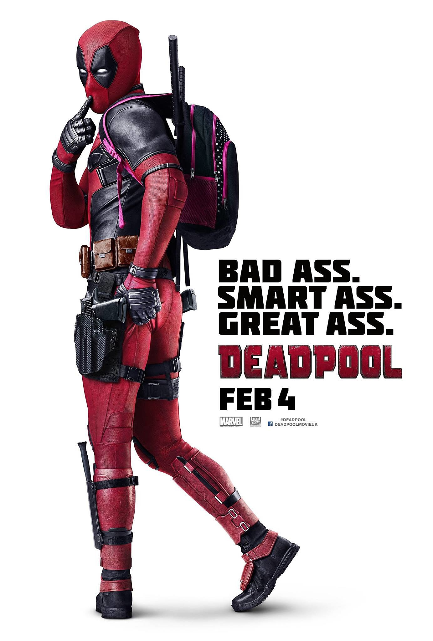 New 'Deadpool' Poster Has a Cheeky Sense of Humor