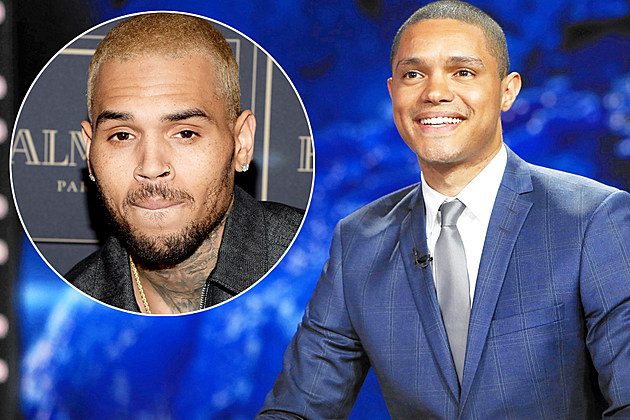 Daily Show Trevor Noah Chris Brown Canceled