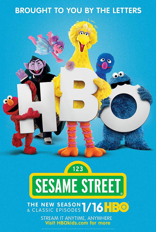 HBO Sesame Street Poster