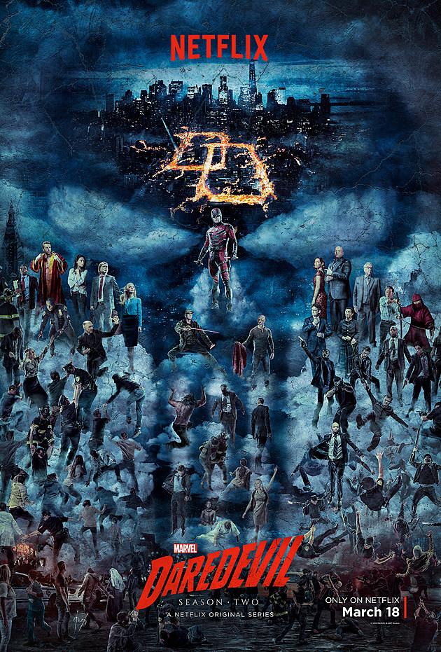 Daredevil Season 2 Premiere Poster