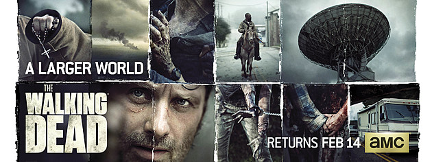 The Walking Dead Season 6B Key Art