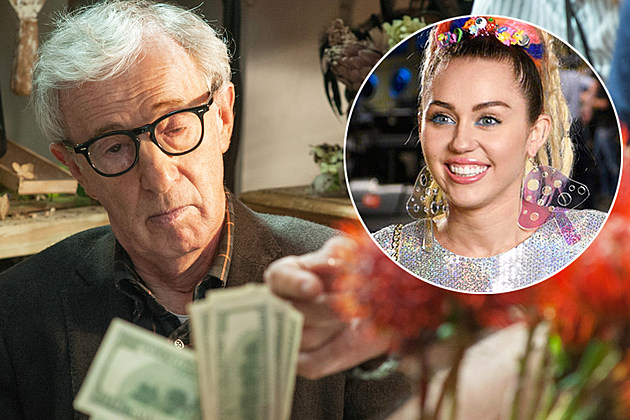Woody Allen Amazon Series Miley Cyrus