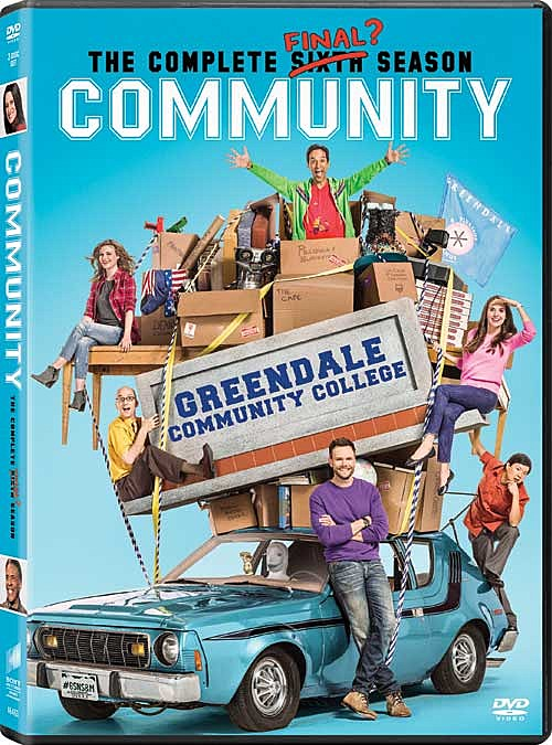 Community Season 6 DVD Art