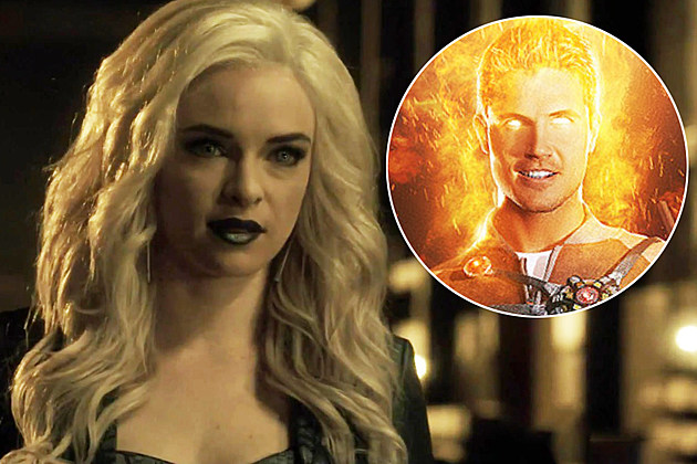 The Flash Robbie Amell Earth 2 Firestorm Photo