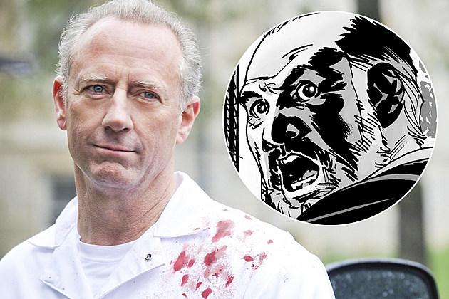 Walking Dead Season 6 Xander Berkeley Gregory