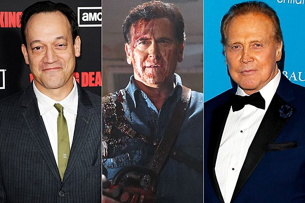 Ash Vs Evil Dead Season 2 Ted Raimi Lee Majors