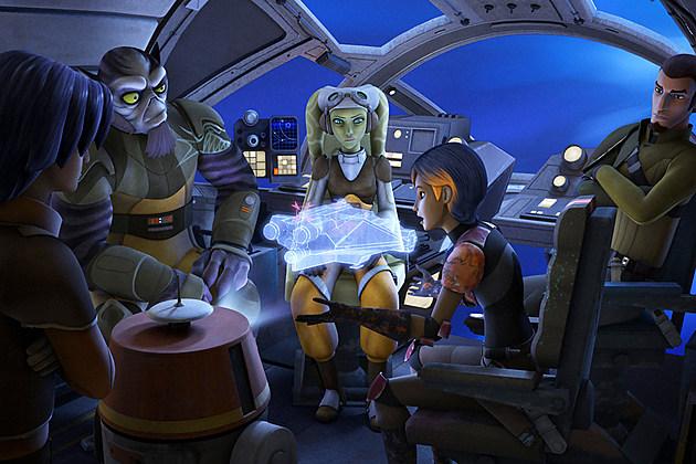 Star Wars Rebels Season 3 Thrawn Rumor