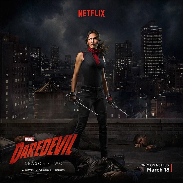 Daredevil Season 2 Elektra Poster