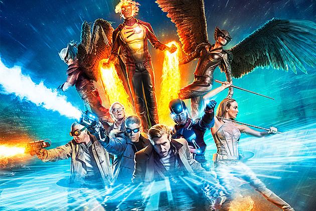 Legends of Tomorrow Season 2 Cast DC Superhero