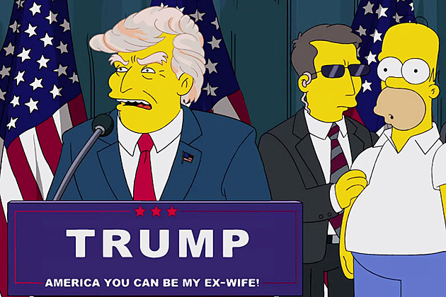The Simpsons President Trump Joke