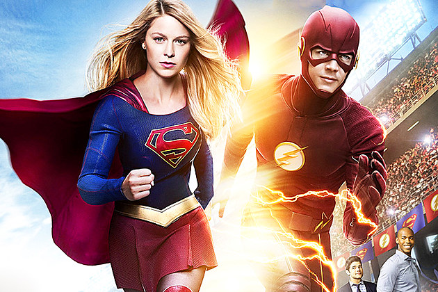 Supergirl Flash Crossover Poster Details