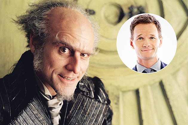 Series of Unfortunate Events Neil Patrick Harris Olaf Set Photo