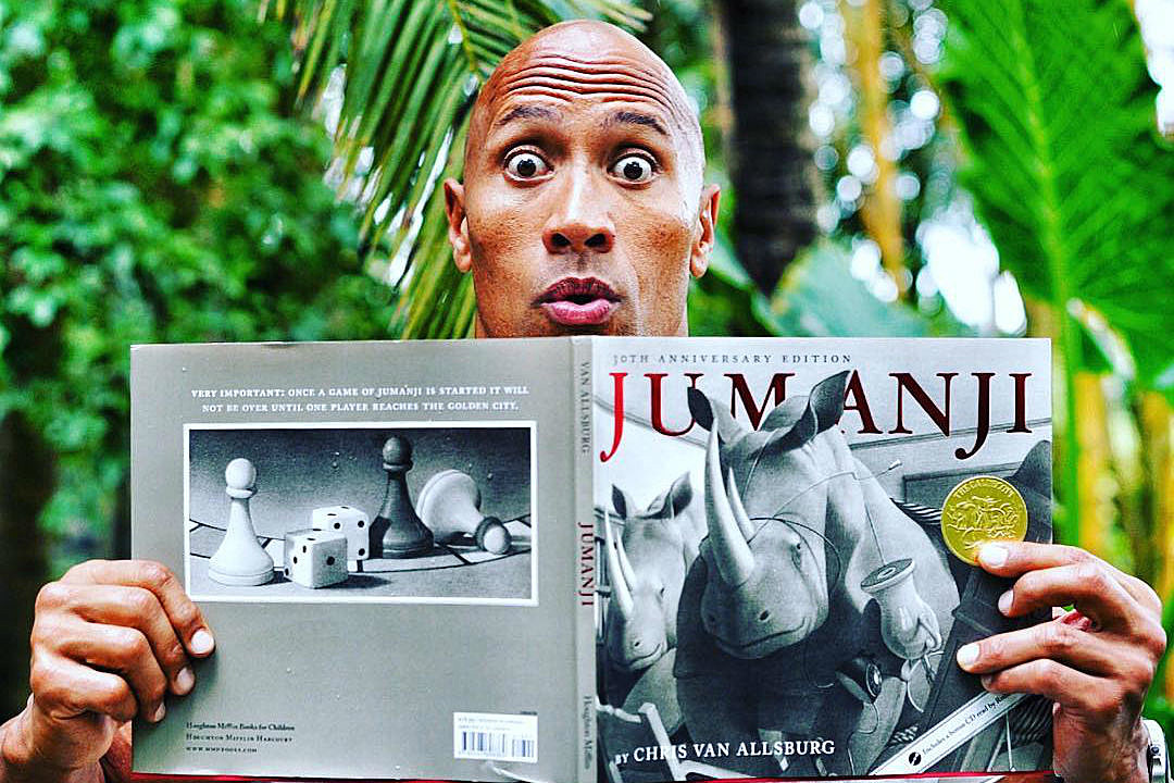 Image result for jumanji dwayne