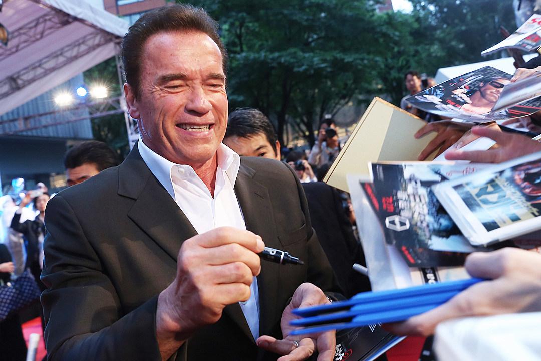 Arnold Schwarzenegger Celebrity Apprentice Photo