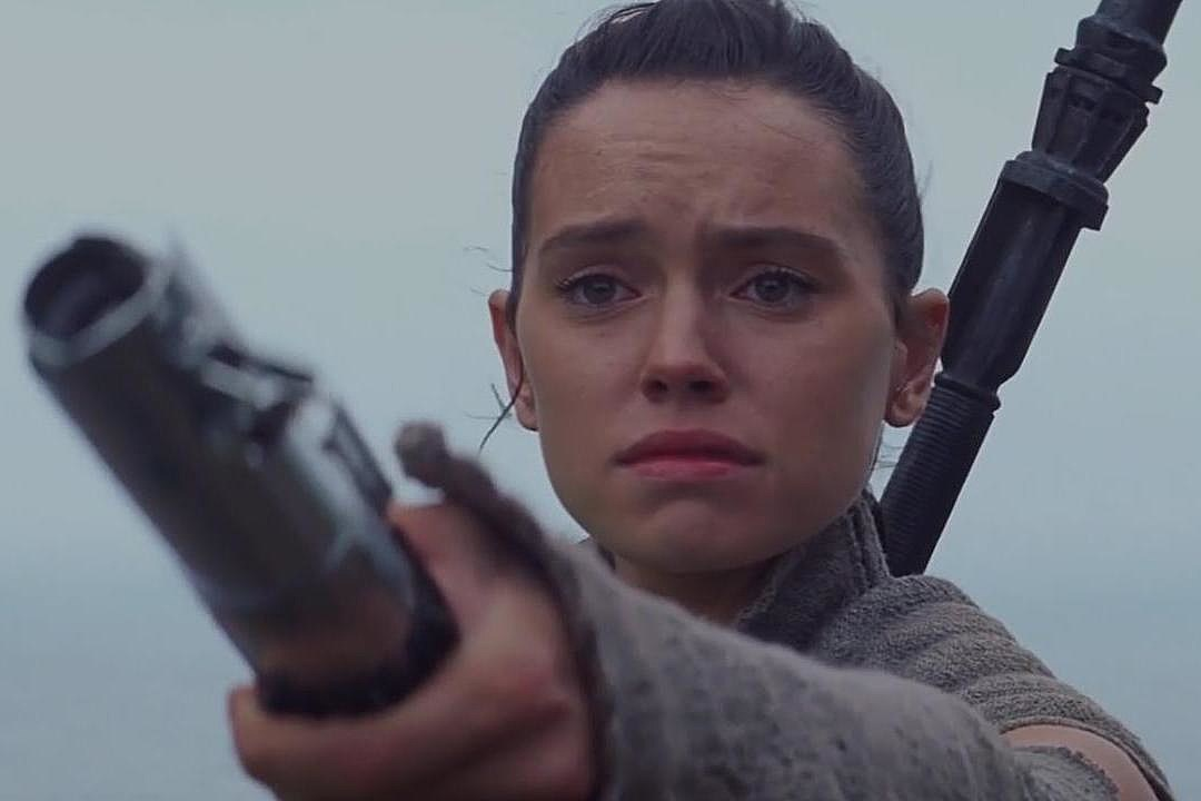 Star Wars The Force Awakens End