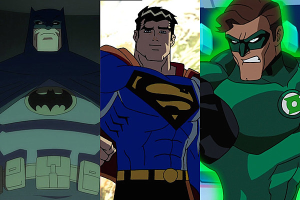 Every DC Animated Original Movie Ranked From Worst to First